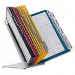 DURABLE notes adhésives Quick Tab Duo, en PET, couleurs